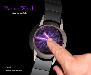 Plasma Ball Watch Concept Won't Electrocute You, We Swear