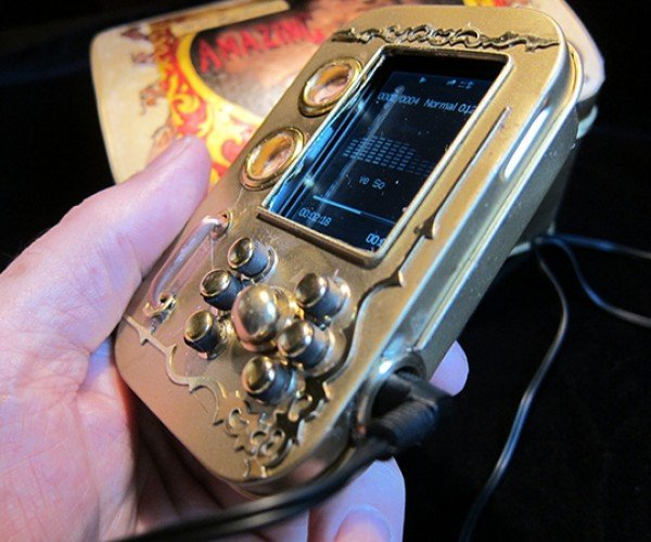 pocket music library steampunk mp3 player by will rockwell 3