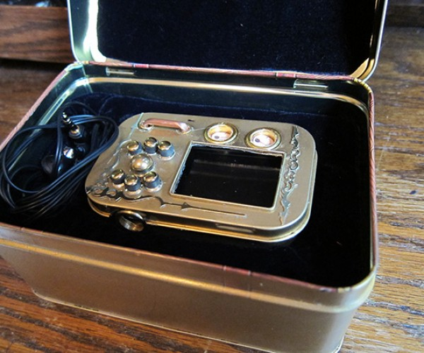 pocket music library steampunk mp3 player by will rockwell 5