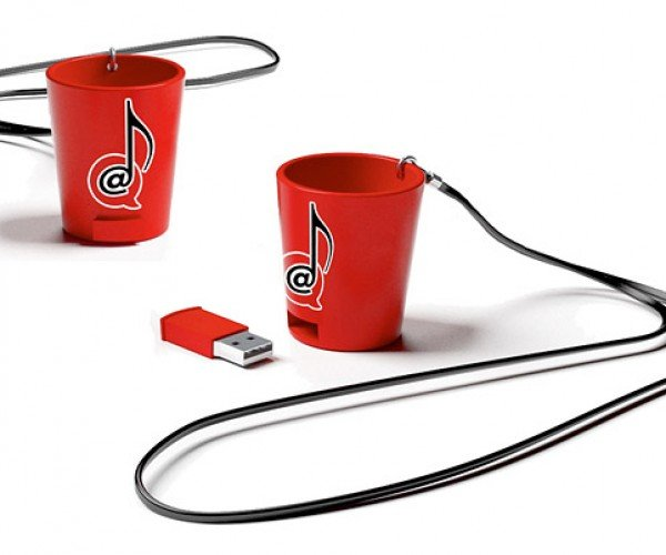 USB Shot Glass is a Drinking Game in a Cup