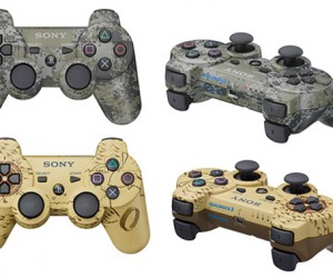 Sony Unveils Camouflage Dualshock 3 Controllers