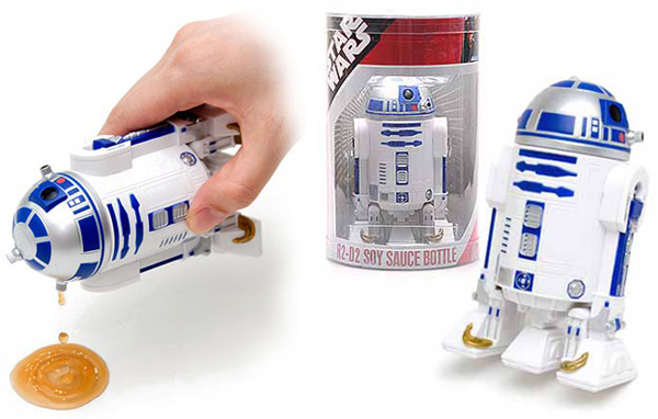r2 d2 star wars soy sauce dispenser from geekstuff4u