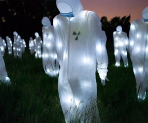Radioactive Ghost Suit Installation: No, the Aliens Have Not Arrived
