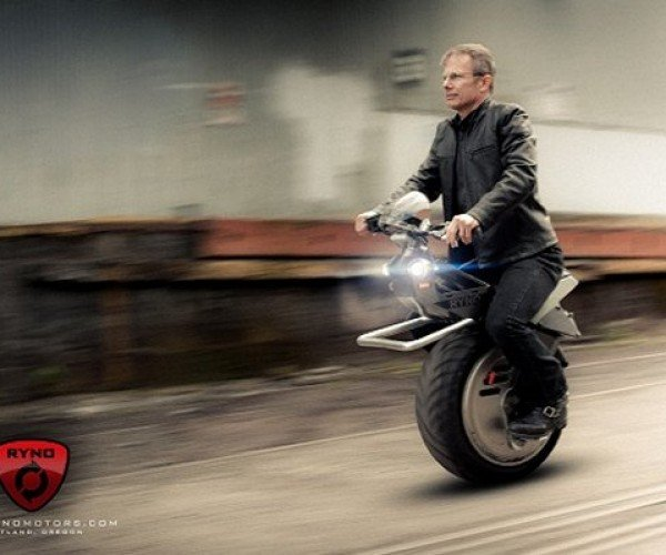 Segway Mates with a Motorcycle, the Ryno Micro-cycle is Born