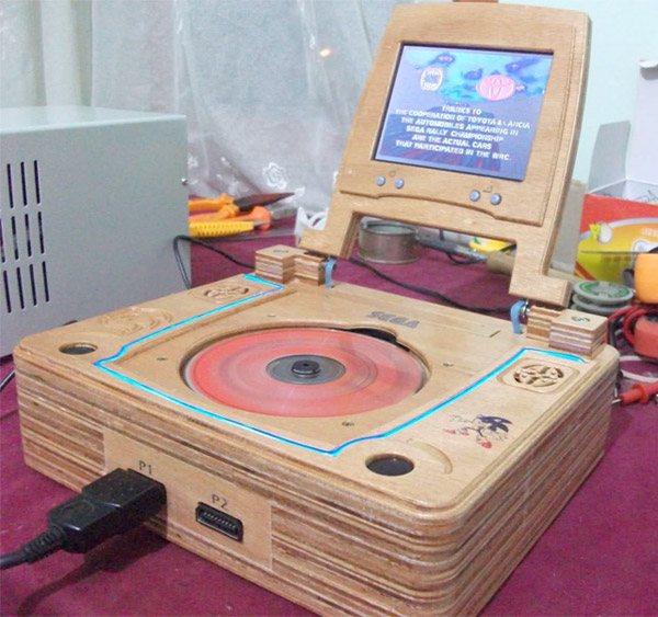sega saturn wooden laptop 1