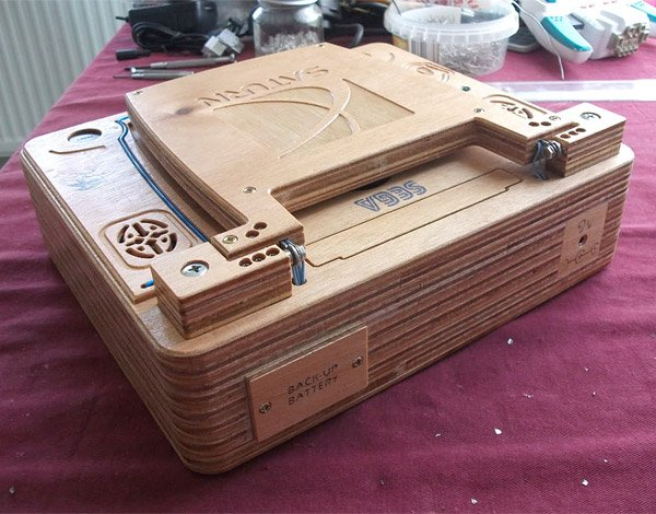 sega saturn wooden laptop 3
