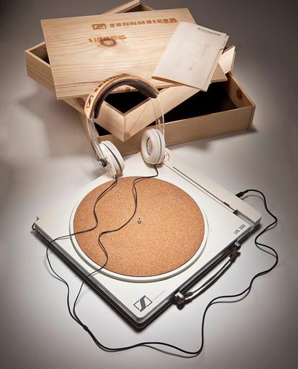 sennheiser ecovinyl turntable concept by matthew lim
