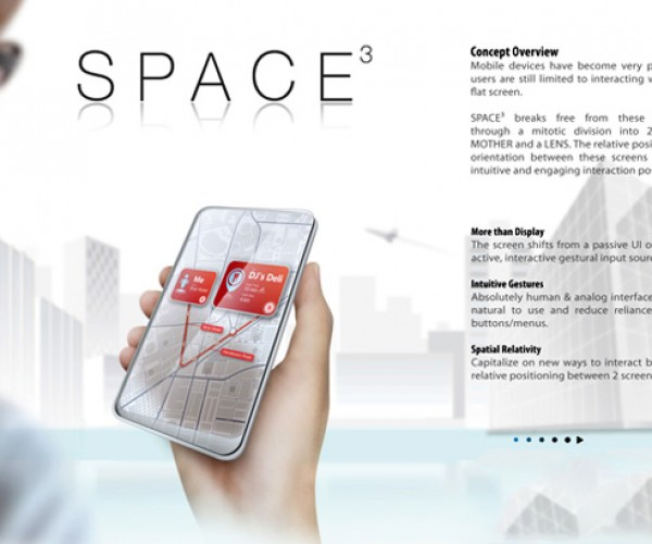 space 3 concept phone by Wenhing Chu and Kok Keong Wong 3