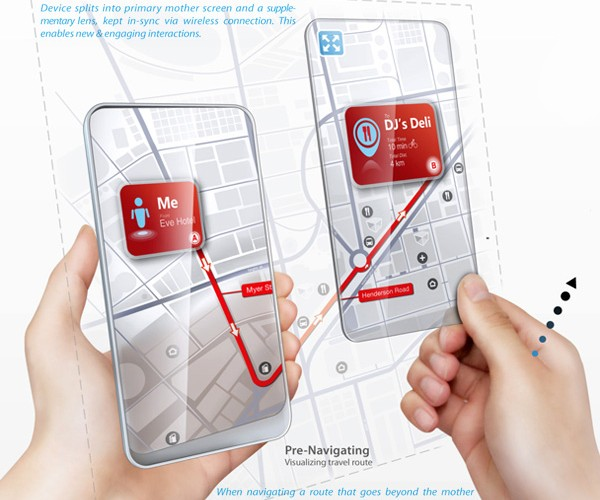 space 3 concept phone by Wenhing Chu and Kok Keong Wong 4