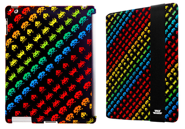 space invaders ipad cases