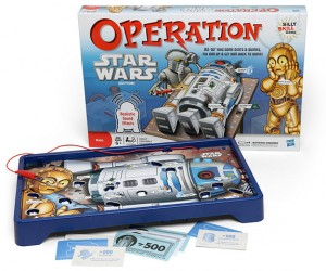 Star Wars Operation: Wasn't C-3PO the One Who Always Needed Surgery?