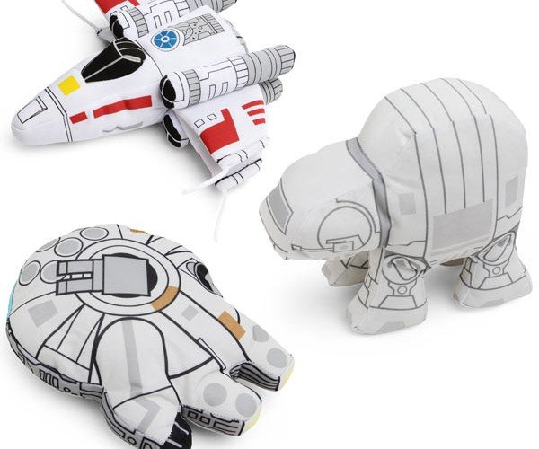 Star Wars Plush Vehicles: Pillow Fight on Hoth!