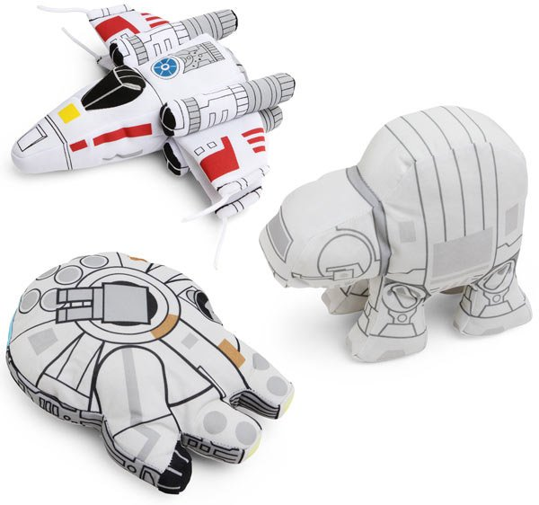 star wars plush vehicle