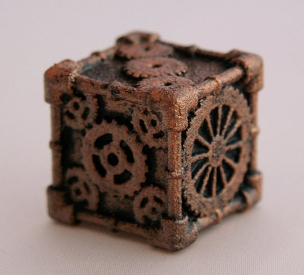 Steampunk 6 Sided Dice By Mechanical Oddities 2 Technabob