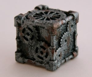 steampunk 6 sided dice by mechanical oddities 6 300x250