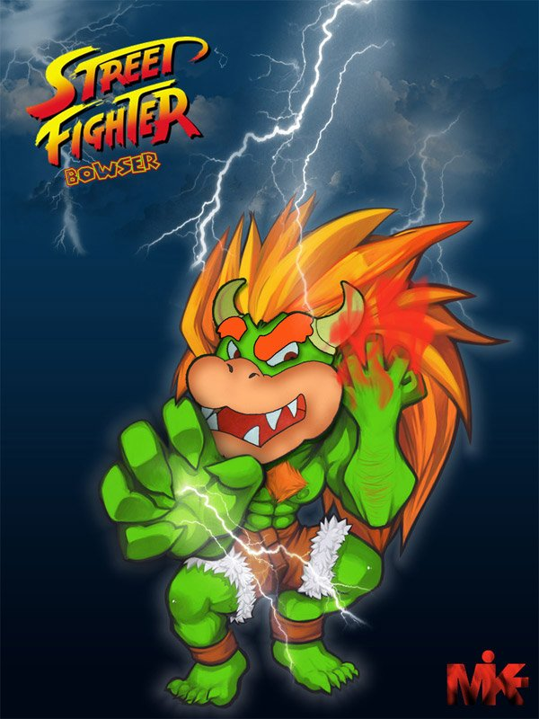 street fighter bowser