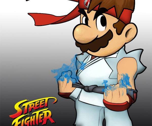 Super Mario Street Fighters: Strange Combo Move