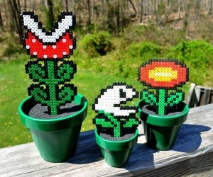 Super Mario Bros. Potted Plants: Just Add Sunshine