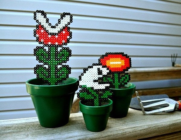 super mario bros potted plants 2