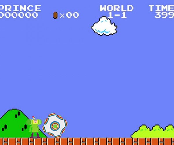 Super KataMario Bros.: Your Princess is in Another Sticky Ball