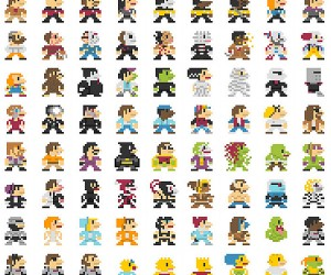 Super Bros Pixel Art: 8-Bits or 16-Bits of Awesome?
