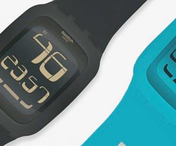 Swatch Touch Watches Look Great, Get Rid of Buttons