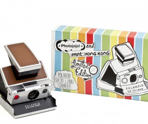 Photojojo Offers Limited-Edition Polaroid SX-70 Instant Camera
