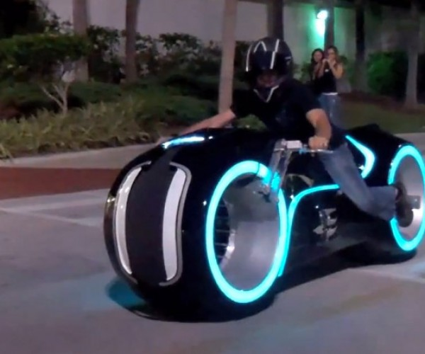 Electric TRON Lightcycle Outed by Parker Brothers