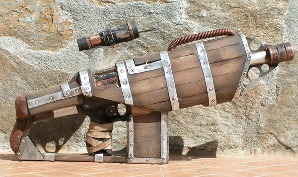 wooden big daddy nerf gun 2