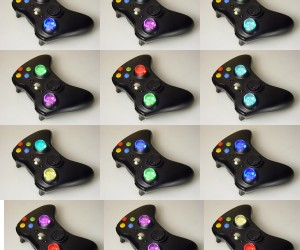 Xbox 360 Controllers Get Colorful Thumbsticks, Courtesy of XCM
