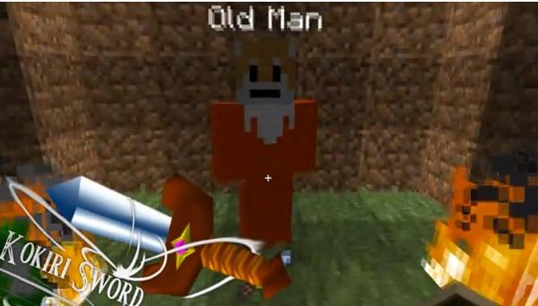 Minecraft Zelda Adventure: Cut Grass, Break Blocks