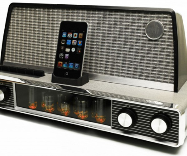 Vintage iPod/iPhone Dock from 1958: Nope, They Didn't Have iPhones Back Then