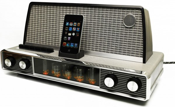 graham browne vintage ipod iphone dock hack