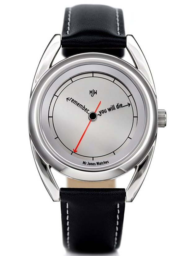 mr jones watches accurate clock analogy dial memento mori timepieces