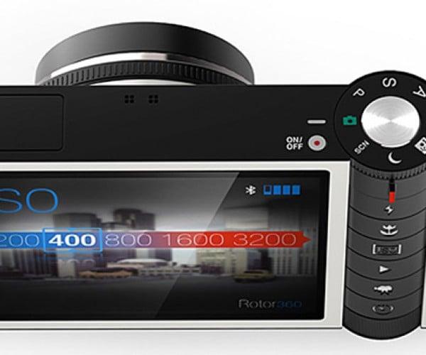 Rotor Digital Camera Concept: Look Ma, No Buttons