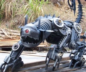 Recycled Steel Ravage Transformer: An Oldie but a Goldie
