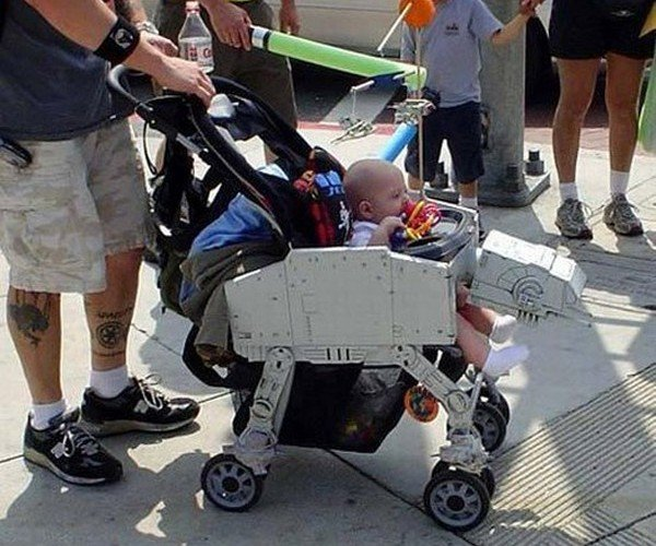 AT-AT Walker Stroller: For Babies Born on Hoth