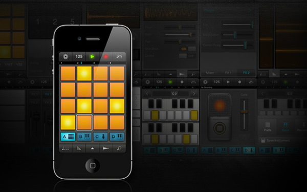 imaschine ipad iphone ios app music studio