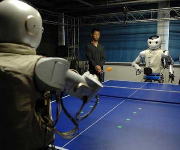 Robots Playing Ping-Pong: The Future's So Bright…
