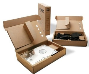 BytePac: Recyclable Cardboard USB Hard Drives