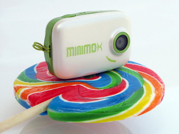 minimo x pocket arts digital lomo camera toy tunnel