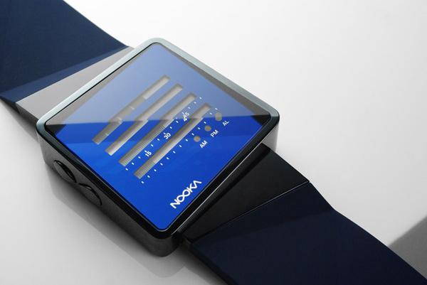 nooka zizm zne-h watch timepiece future