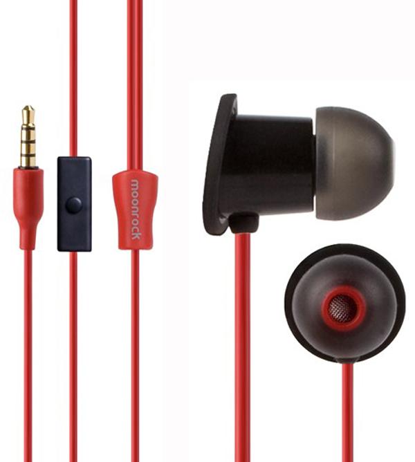 moonrock black moshi audio earphones earbuds headphones