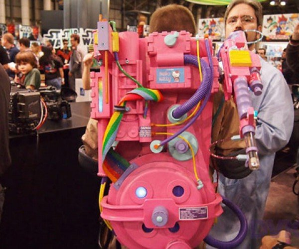 Hello Kitty Ghostbusters Proton Pack: There's Something Strange in Your Neighborhood