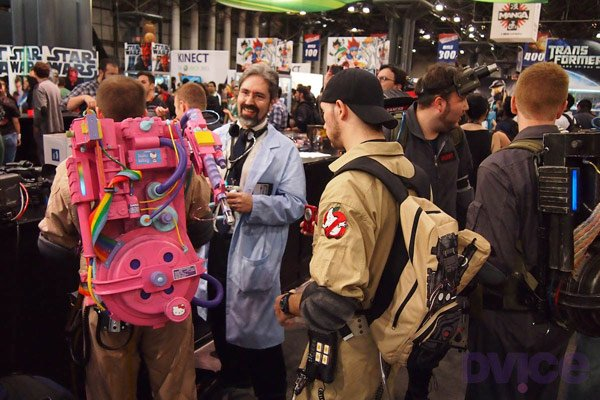 hello kitty ghostbusters cosplay nyc comic con retro