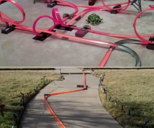 The 2,000 Foot Hot Wheels Track