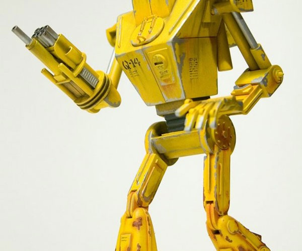 Q-14 Reconnaissance Robot: And it Was All Yellow…