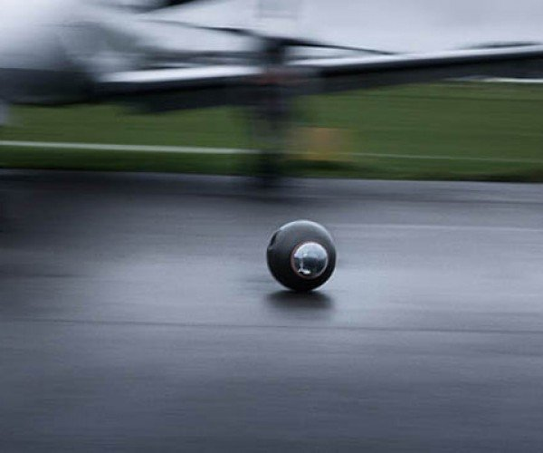 Rotundus GroundBot: Rolling Surveillance Robot from the Future
