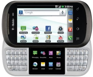 LG Doubleplay: Split Keyboard Android Phone for Power-Texters