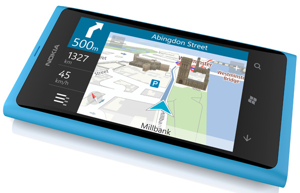 nokia lumia 800 smartphone iphone windows